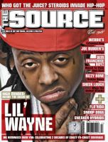 Lil Wayne en couverture de The Source